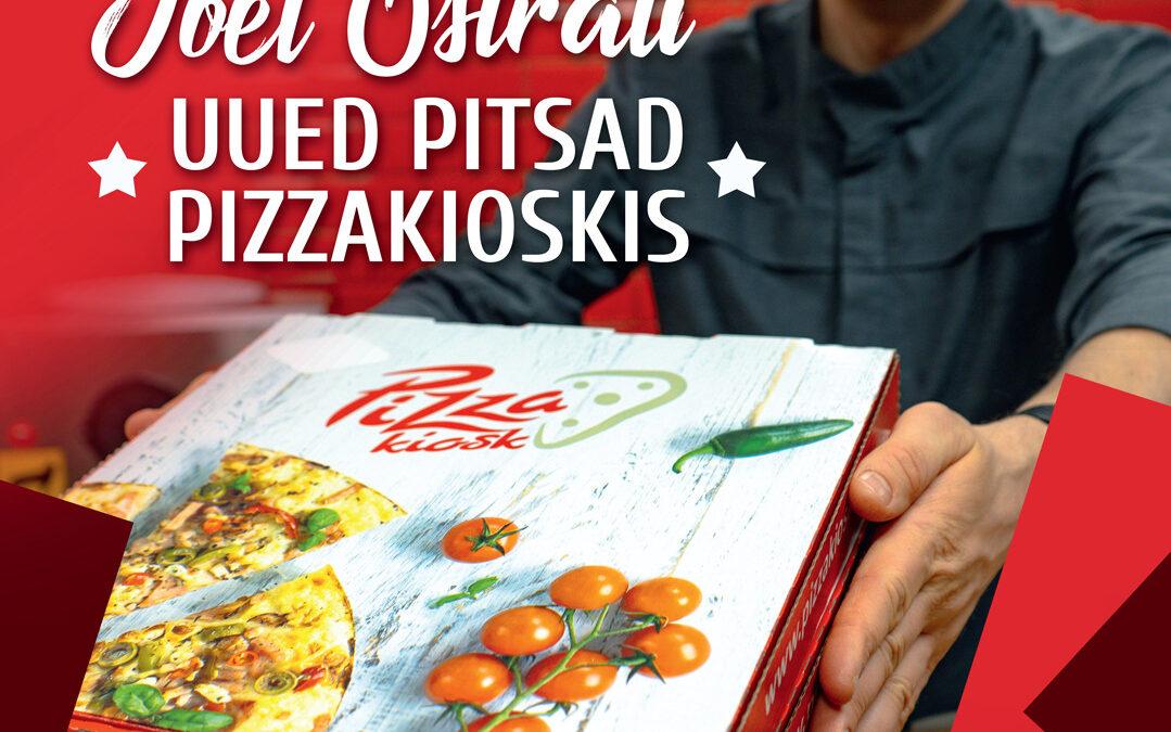 Menüüsse lisandus 3 uut pitsat tippkoka Joel Ostrati poolt 🍕
